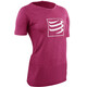 Compressport Training T-Shirt Women Pink